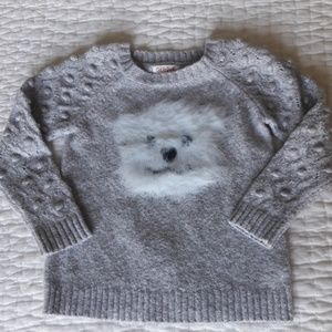 🐨 The sweetest little bear face sweater
